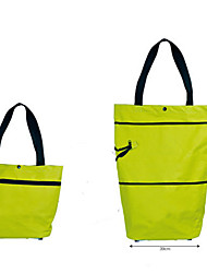 Green Circle Bags Shopping Cart Wheels Folding Shopping Bag Bag