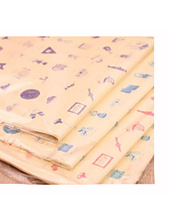 Small Life Bales Book Paper Wrapping Paper 20 Mixed Hair,Size: 76 * 52.6 CM
