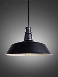 10.2inch Max 60W Retro Designers Metal Pendant Lights Living Room / Bedroom / Dining Room / Kitchen