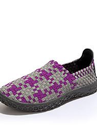 Men's Sneakers Spring / Summer / Fall / Winter Comfort PU Outdoor / Athletic / Casual Flat  Green / Purple / Orange