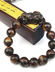 Strand Bracelets Plastic Vintage Daily / Casual Jewelry Gift Brown