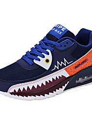 Men's Casual Shoes Flexible Summer and Autumn Comfortable PU Leisure Flat Shoes Black / Blue / Green / Sports Shoes