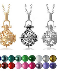 Locket Baby Angel Caller Pendant Long Necklace Harmony Chime Ball Mexico Bola Relaxing Musical Sound , 1 Piece