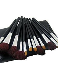 34 Bürsten-Satz- Künstliches Haar vollständige Bedeckung Holz Gesicht ShangYang