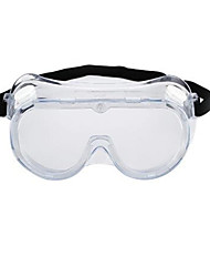 poussière impact sur la preuve des lunettes de protection contre les éclaboussures d'acide