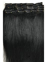 """Extensions de cheveux humains Cheveux humains 100 16""""28"""" Extension des cheveux"""