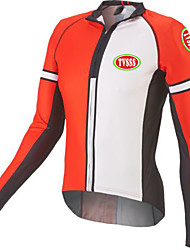 Sports® Cycling Jersey Men's Long Sleeve Breathable / Thermal / Warm / Windproof / Ultra Light Fabric / Seamless Bike TopsTerylene /