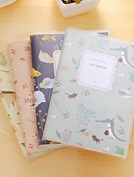 Creative PVC Pouches Notepad Small Pocket Notebook (Random Colors)