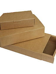 Kraft Paper Box, Card Box, Packing Box,Specification: 20 * 20 * 3 (Cm),A Pack of Ten