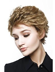 мс моды в Европе и короткие волосы золотисто-коричневого цвета частичные точки 4 дюйма