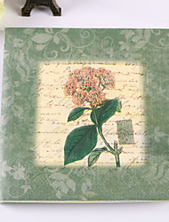 100% virgin pulp 20 pcs Green Wedding Napkins