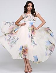 Women's Flowing Bohemia Chiffon Long Dress
