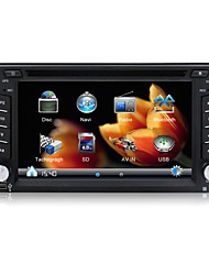 2 Din Car DVD Player GPS Navi 6.2''Universal Car Radio in Dash Bluetooth Stereo Video SWC Free Map