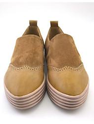 Women's Flats Leatherette Casual Flat Heel Shoes slip-on women's shoes