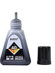 Single Bottle Marker Pen Black Ink Supplement Liquid Office Supplies