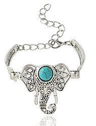 Bracelet Chaînes & Bracelets Alliage Forme d'Animal Bohemia style Bijoux Cadeau Argent,1pc