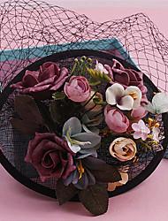 Femme Dentelle Tissu Casque-Mariage Occasion spéciale Coiffure 1 Pièce