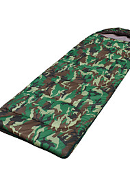 Sleeping Bag Rectangular Bag Single 2 T/C Cotton 600g 175X70 Hiking / Camping KEEP WARM / Compression / Cold Weather