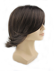 Man Hairstyle Synthetic Short  Man'S Wigs