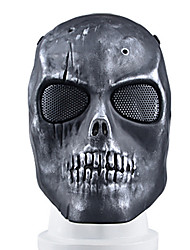 schwarze Farbe, TPR Material Schutz Zubehör taktischen Bereich schwarz bk Maske