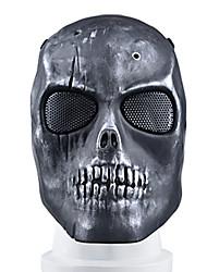 cor preta, TPR material de acessórios de proteção campo tático máscara bk preto