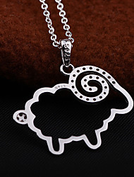 1 Sets of S925 Sterling Silver Pendant Necklace