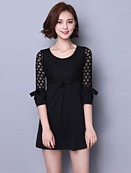 Women's Summer New Retro Fashion Lace Dress