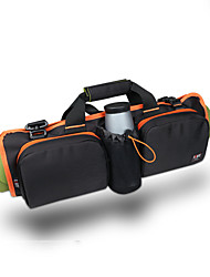 Holdall / Gym Bag / Yoga Bag / Yoga Mat Bag Fitness / Yoga Waterproof / Wearable / Multifunctional Unisex Black Nylon