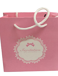 Pink Color Other Material Packaging & Shipping Gift Bags 5 Packs