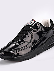 Men's Sneakers Spring / Fall Comfort Synthetic Athletic Black / Silver / Gold Walking / Running