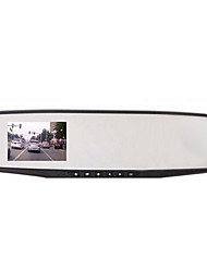 Multifunctional rearview mirror for well-informed  recorder wide-angle vision