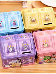 Kindergarten Children Gift Prizes Korea Gifts Cute Cartoon Mini Interlocking Piggy Bank Piggy Bank