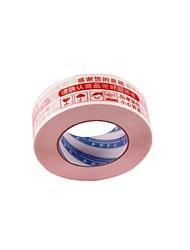 marcação fita avisos plasticbandwidth vermelho de 4,5 centímetros 2,5 centímetros de espessura avisos de vedação (volume 2 a)