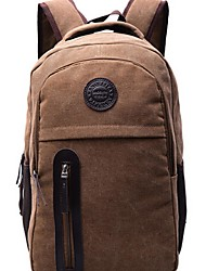 Men Canvas Outdoor Backpack