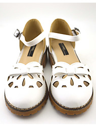 Women's Sandals shoes western style Office / Dress / Casual Low Heel sweet gilr school style shoes