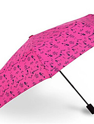 Seventy Percent Off Folding Umbrella Floral Umbrella Uv Ultra Portable