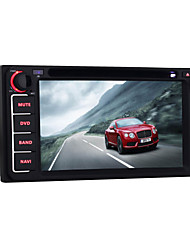 Quad Core 6.2 Inch Universal 2 Din Android 5.1 Car DVD GPS Navigation for Toyota with Bluetooth WIFI Radio Mirror link