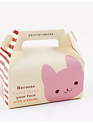 Yellow Color Packaging & Shipping X59 The Bear Rabbit Cake Packaging Box A Pack of Eighteen