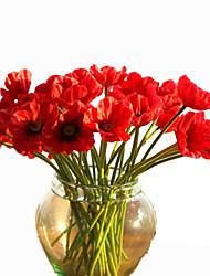10 10 Ast PU andere Tisch-Blumen Künstliche Blumen 32CM