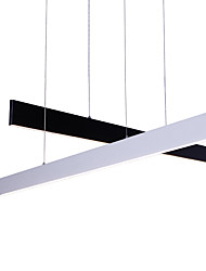Modern Led Pendant Light L120cm Warm White 40Watt Painting Feature for LED Metal Dining Room / Study Room/Office