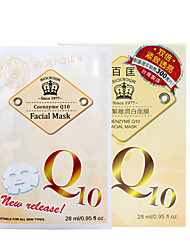 Guarantee Authenticity Biocrown® Taiwan 28ml Q10 Essence Anti-Aging Mask 10pcs GMP Cerficated