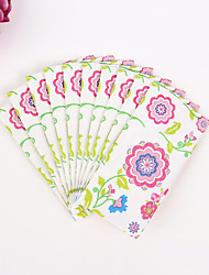 100% virgin pulp 50pcs Flower Wedding Napkins