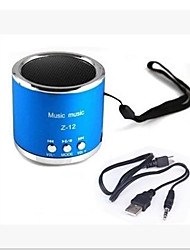 Z12 Card Car Speakers, Portable Mini Audio, U Disk MP3 Car Speakers