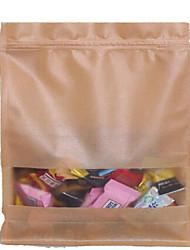 20 * 30 + 8 épaississement sacs en papier kraft huit sac à valve alimentaire de bord d'étanchéité séché sac jujube rouge noyer un paquet