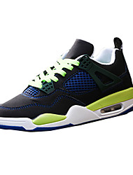 Men's Sneakers Spring / Fall Round Toe Fabric Outdoor Flat Heel Others / Lace-up Black / Green / Red / White Sneaker