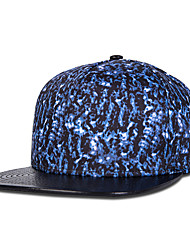 New Street Fashion Men Women Blue Stone Pattern Print Hip Hop Baseball Caps