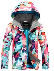 gsou снег лыжный одежды вершины термические / теплые легкие материалы ветрозащитный