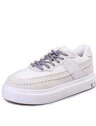 Dames Platte schoenen Lente / Zomer / Herfst / Winter Comfortabel / Platte schoenen Canvas Kantoor & Werk / Formeel / Informeel Platte hak