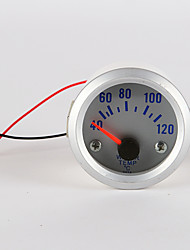 "car and motorcycle 2"" 52mm LED Thermometer Water Temperature Temp Meter Gauge"