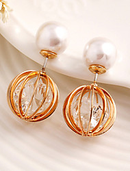 Drop Earring Jewelry 1 pair Fashionable Alloy Gold Daily / Casual